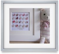Baby Girl Prams: A beautifully crafted, bespoke gift for a new baby, christening or to celebrate a baby's first Christmas.